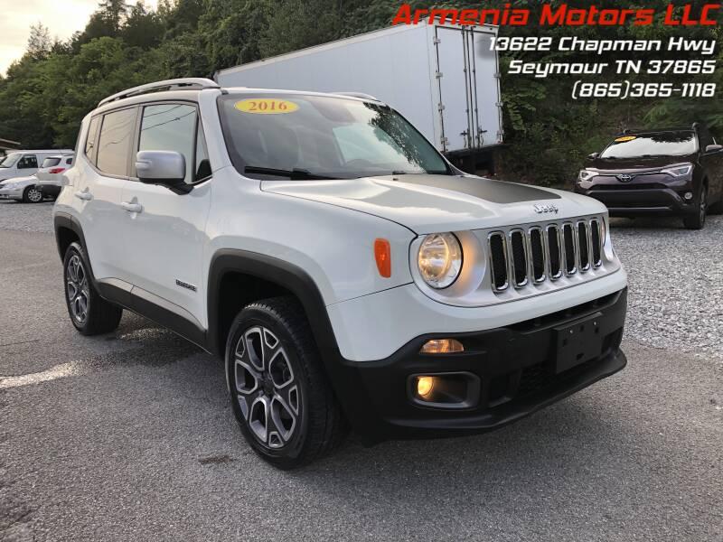 2016 Jeep Renegade for sale at Armenia Motors in Seymour TN
