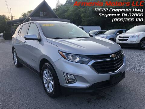 2019 Chevrolet Equinox for sale at Armenia Motors in Seymour TN