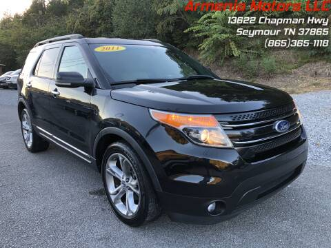 2011 Ford Explorer for sale at Armenia Motors in Seymour TN