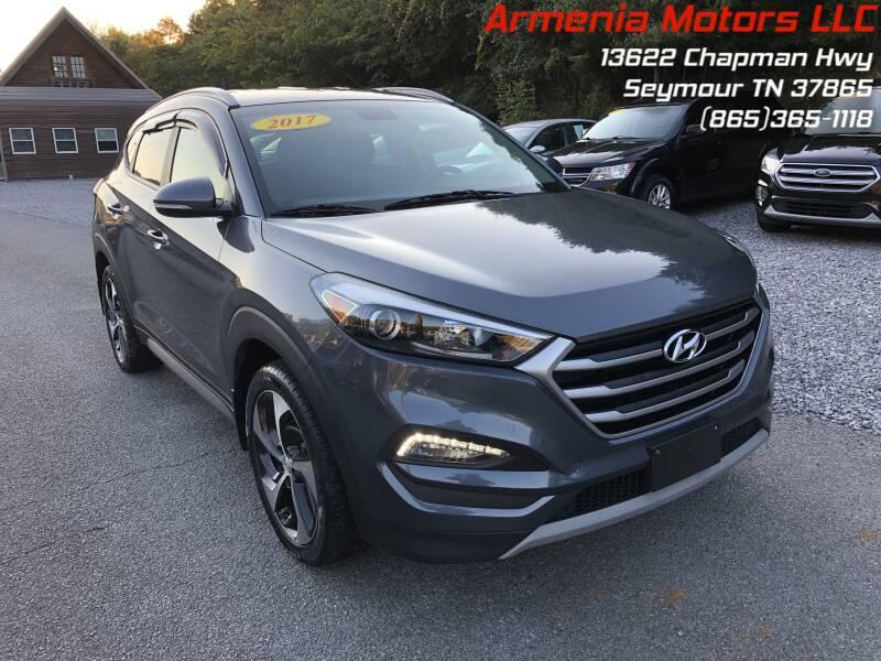 2017 Hyundai Tucson for sale at Armenia Motors in Seymour TN