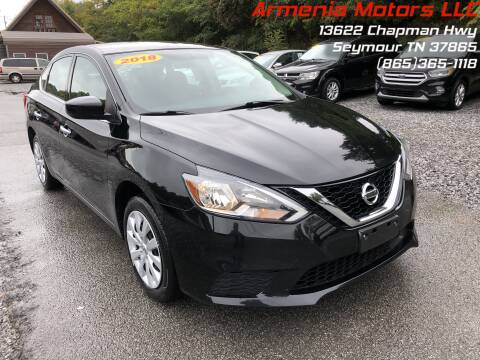 2018 Nissan Sentra for sale at Armenia Motors in Seymour TN