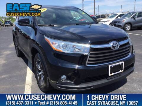 2016 Toyota Highlander for sale at East Syracuse Performance Sales & Service in Syracuse NY