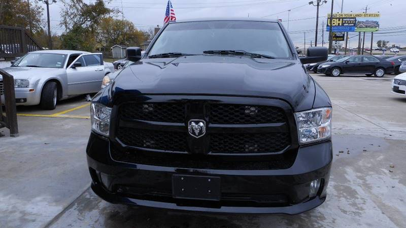 2013 RAM RAM PICKUP 1500 TRADESMAN black we are putting dreams into driveways 100 down specia