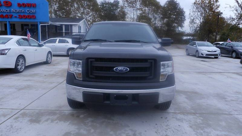 2014 FORD F-150 XLT black 4th chance finance available we ship nationwide and compete with our p
