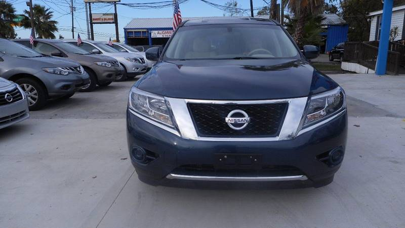 2014 NISSAN PATHFINDER SL blue we are putting dreams into driveways 100 down special we work
