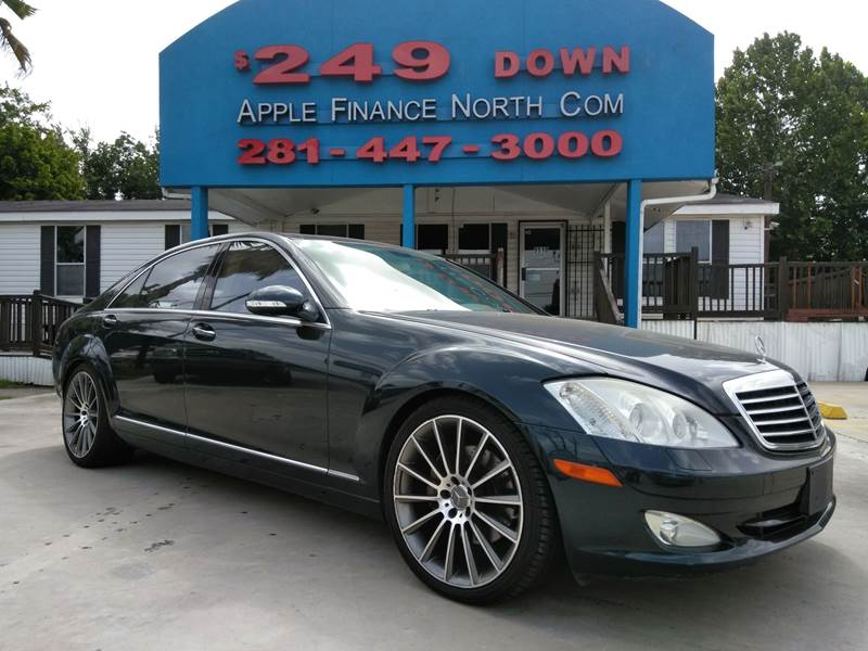 2007 Mercedes Benz S Class For Sale At Apple Finance Company North In  Houston