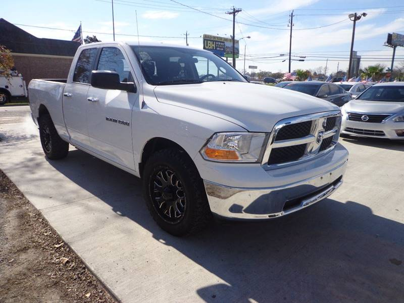 2012 RAM RAM PICKUP 1500 OUTDOORSMAN 4X2 4DR QUAD CAB 63 white 4th chance finance available we s