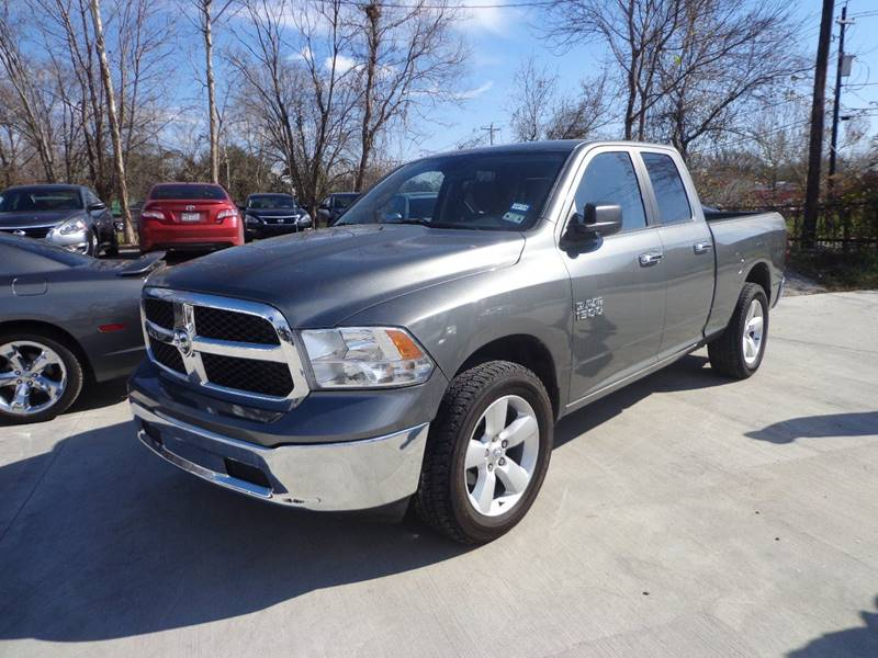 2013 RAM RAM PICKUP 1500 SLT gray 4th chance finance available we ship nationwide and compete wi