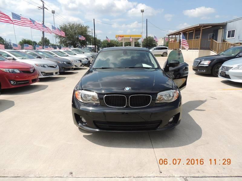 2012 BMW 1 SERIES 128I 2DR COUPE SULEV black 4th chance finance available  nationwide shipping
