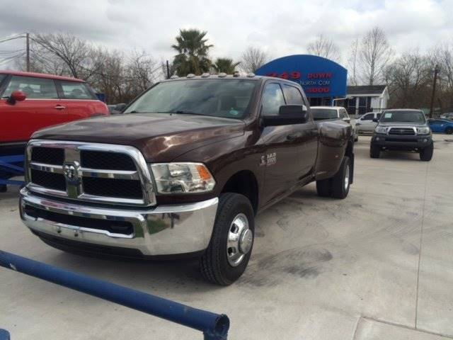 2014 RAM RAM PICKUP 3500 TRADESMAN brown loaded drives great and you can finance  100 down wa