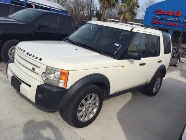 2006 LAND ROVER LR3 SE 4WD 4DR SUV white 100 down delivers wac  we ship nationwide and our pric