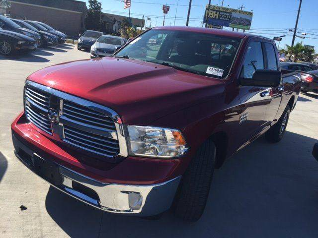 2014 RAM RAM PICKUP 1500 SLT red great mpg and like new  national shipping100 delivers wac
