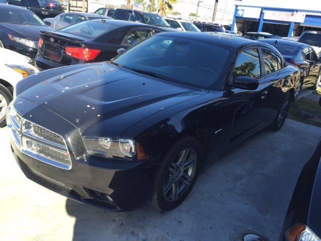 2013 DODGE CHARGER RT 4DR SEDAN black loaded rt    low payments and 100 down delivers  wacna