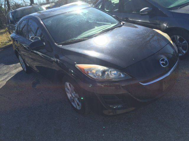2010 MAZDA MAZDA3 I SPORT 4DR SEDAN 5A black low payment low down and its yours  100 down del