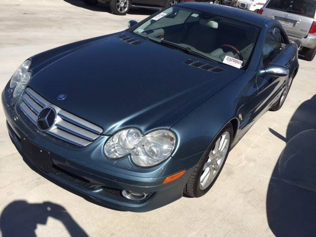 2007 MERCEDES-BENZ SL-CLASS SL550 2DR CONVERTIBLE blue specialty car  get it before its gone