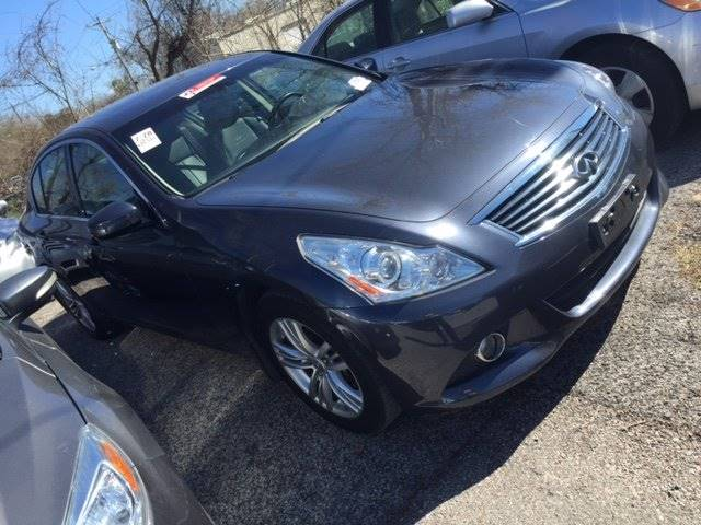 2013 INFINITI G37 SEDAN JOURNEY 4DR SEDAN gray 100 cash down delivers wac    national shippinga