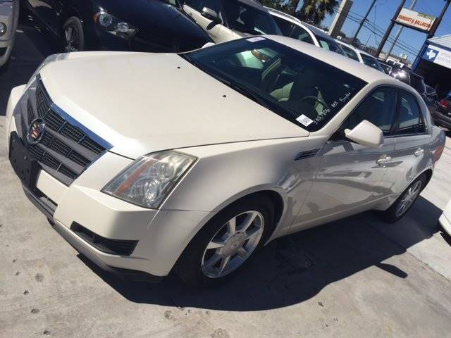 2008 CADILLAC CTS 36L DI 4DR SEDAN WHIGH FEATURE white 100 cash down delivers wac  shipping n