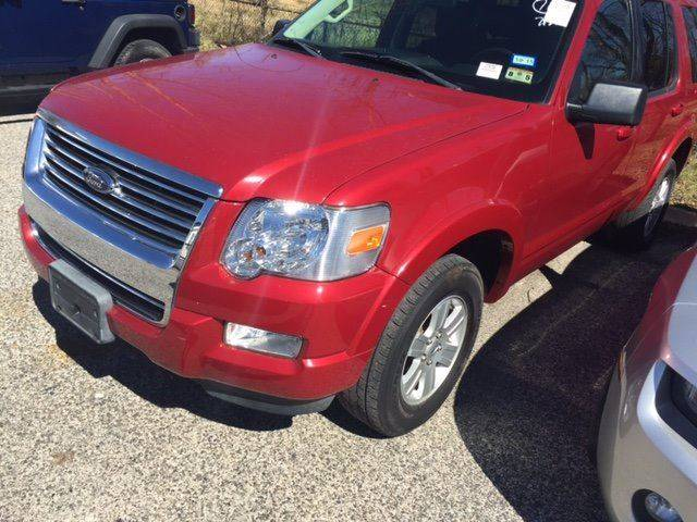 2010 FORD EXPLORER XLT 4X2 4DR SUV burgundy 100 cash down delivers wac national shippingask abo