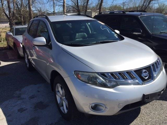 2009 NISSAN MURANO SL silver 100 cash down wac delivers  national shipping   ask about our ref