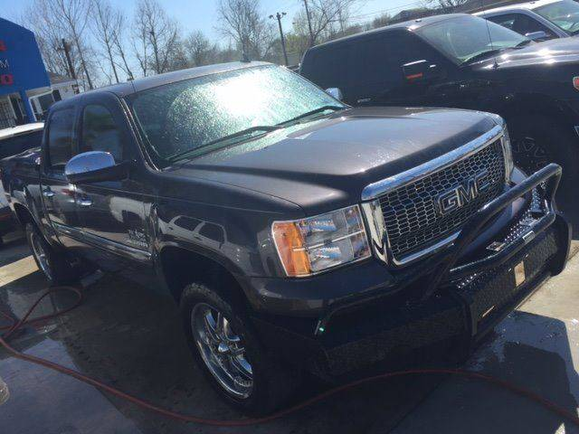 2011 GMC SIERRA 1500 SLE 4X2 4DR CREW CAB 58 FT SB gray 100 cash down delivers  national ship