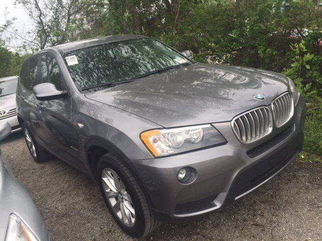 2014 BMW X3 XDRIVE28I AWD 4DR SUV charcoal exhaust - dual tip cargo tie downs door handle color