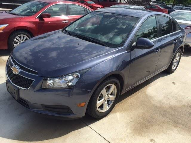 2013 CHEVROLET CRUZE 1LT AUTO 4DR SEDAN W1SD blue all prices are wac customers must finance w