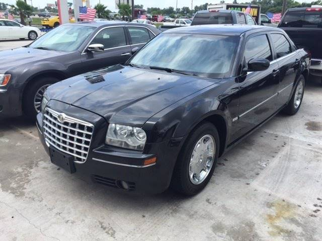 2007 CHRYSLER 300 TOURING 4DR SEDAN black 249 cash down delivers  wac cargo tie downs grille co