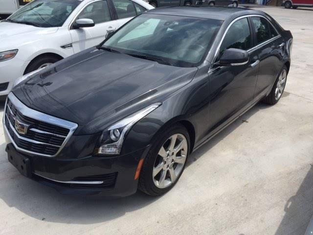 2015 CADILLAC ATS 20T LUXURY 4DR SEDAN gray 249 down for approvals wac exhaust - dual tip exha