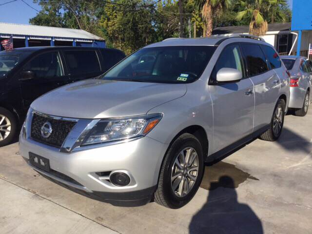 2013 NISSAN PATHFINDER SV 4X4 4DR SUV gray we are putting dreams into driveways 100 down spec