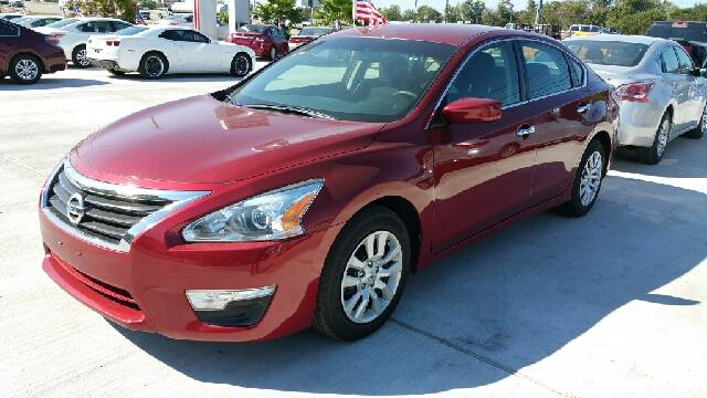2015 NISSAN ALTIMA 25 S 4DR SEDAN red we are putting dreams into driveways 100 down special