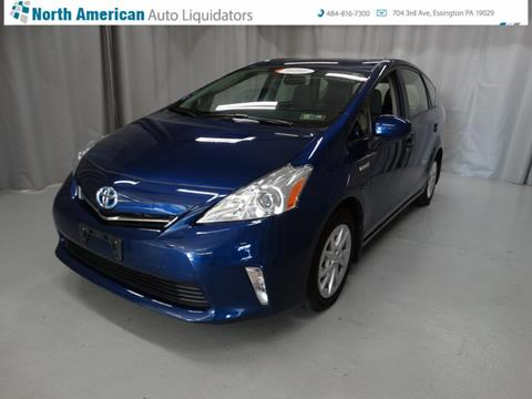 2014 Toyota Prius v for sale in Essington, PA