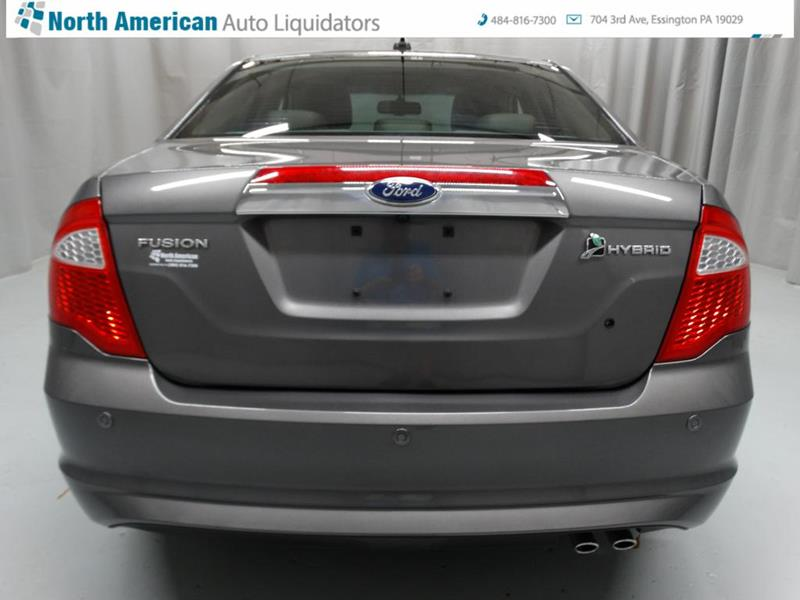 Contact us about this car & 2010 Ford Fusion Hybrid 4dr Sedan In ESSINGTON PA - North American ... markmcfarlin.com