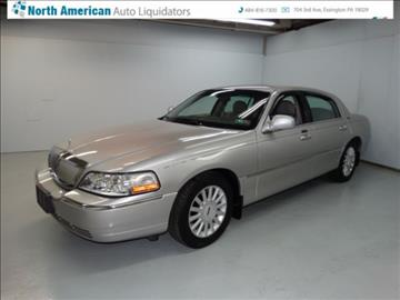 2005 Lincoln Town Car for sale in Essington, PA