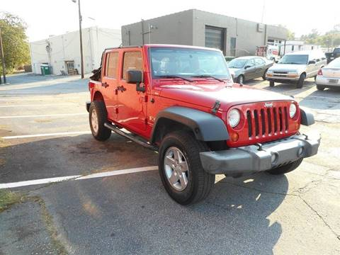 2007 Jeep Wrangler Unlimited for sale in Union City, GA