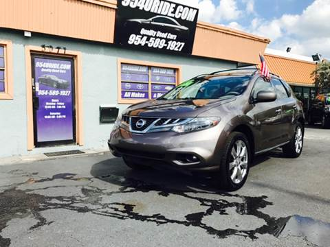 2012 Nissan Murano for sale in Hollywood, FL