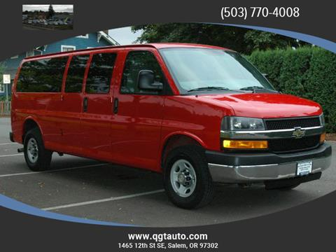 2013 Chevrolet Express Passenger for sale in Salem, OR