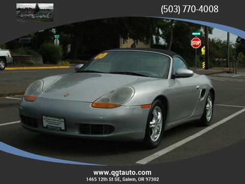 2000 Porsche Boxster for sale in Salem OR
