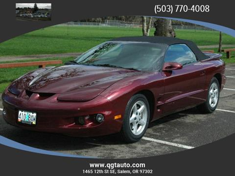 2002 Pontiac Firebird for sale in Salem, OR