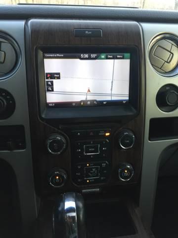 2013 Ford F-150 4x4 Lariat 4dr SuperCrew Styleside 5.5 ft. SB - Junction City KS