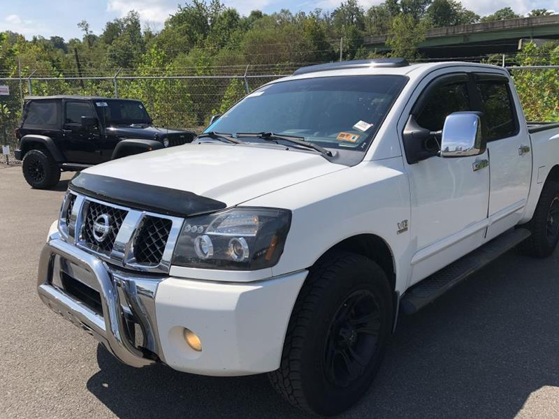 2004 Nissan Titan Xe In South Charleston Wv Hah Pre Owned Auto