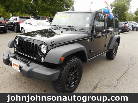 2015 Jeep Wrangler Unlimited for sale in Boonton, NJ