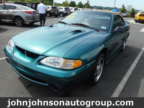 1997 Ford Mustang SVT Cobra for sale in Boonton, NJ