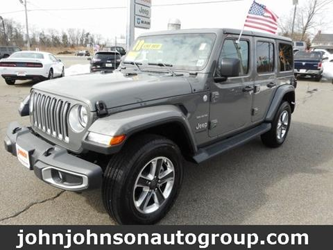 2018 Jeep Wrangler Unlimited for sale in Boonton, NJ