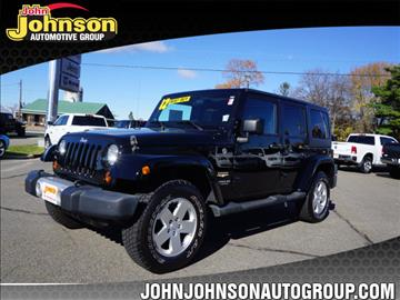 2012 Jeep Wrangler Unlimited for sale in Boonton, NJ