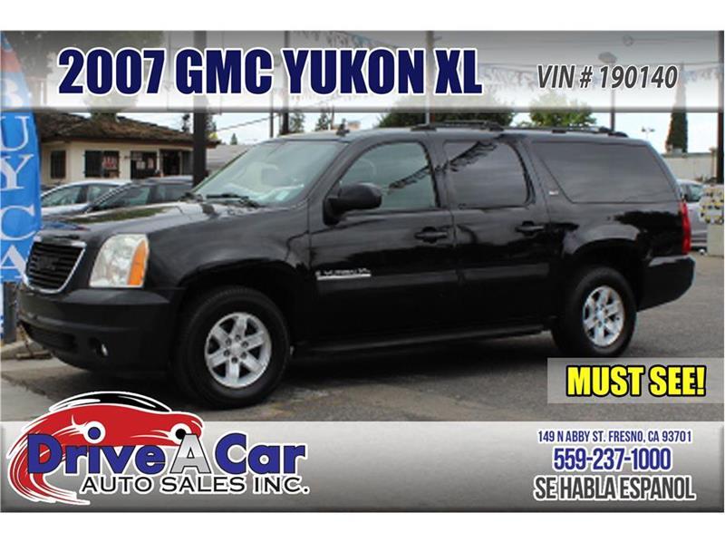 2007 GMC Yukon XL SLE Sport Utility 4D - Fresno CA & 2007 Gmc Yukon Xl SLE Sport Utility 4D In Fresno CA - Drive A Car ...