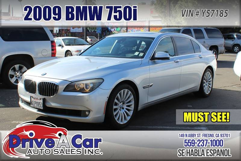 2009 BMW 7 Series 750Li 4dr Sedan - Fresno CA & 2009 Bmw 7 Series 750Li 4dr Sedan In Fresno CA - Drive A Car Auto Sales