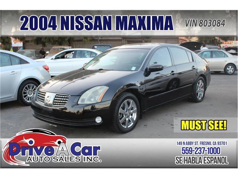 2004 Nissan Maxima SE Sedan 4D   Fresno CA