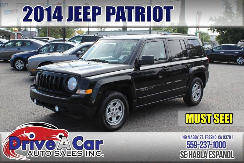 2014 Jeep Patriot Sport 4dr SUV - Fresno CA & 2014 Jeep Patriot Sport 4dr SUV In Fresno CA - Drive A Car Auto Sales