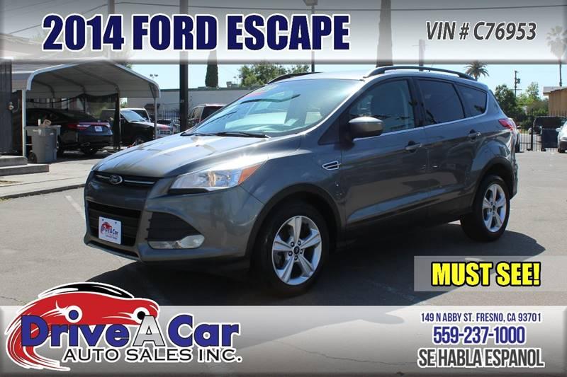 2014 Ford Escape SE 4dr SUV - Fresno CA & 2014 Ford Escape SE 4dr SUV In Fresno CA - Drive A Car Auto Sales