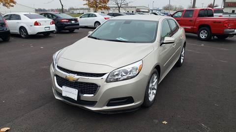 Used Cars Appleton Wi >> 2016 Chevrolet Malibu Limited For Sale In Appleton Wi